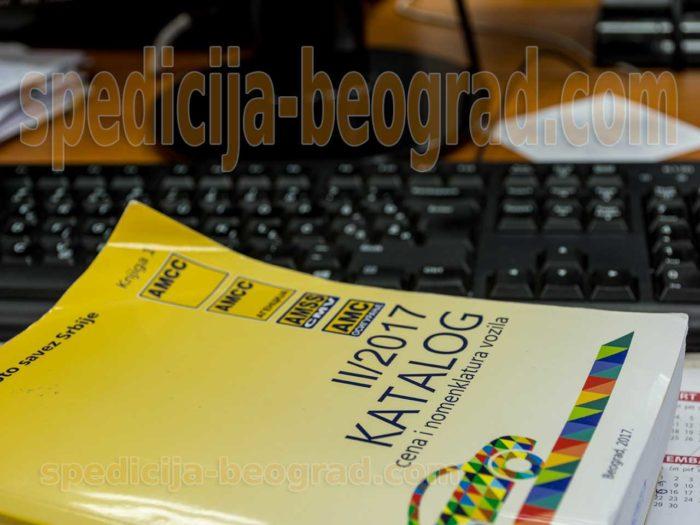 AMSS auto-moto savez Srbije katalog cena vozila i nomenklatura